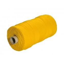 Cordonetto edilizia diam.1 mm x 25 m giallo