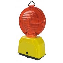 Lampeggiatore 'giove' da 2 batterie rosso