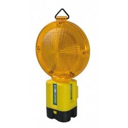 Lampeggiatore 'marte' da 1 batteria giallo