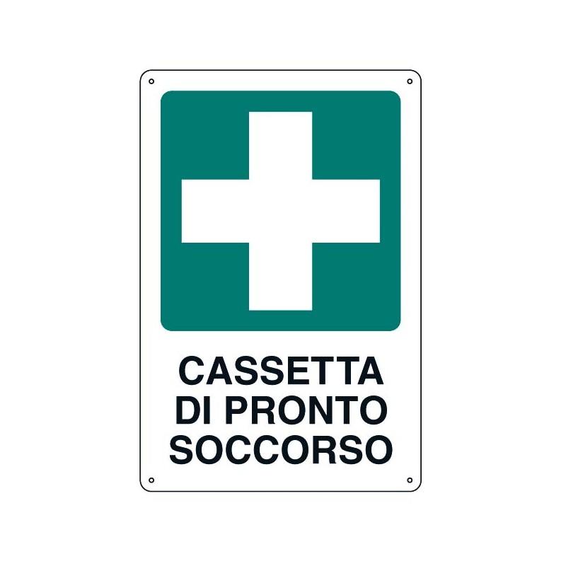 Cartello Cassetta Pronto Soccorso 33x43 Cm Giemmeargenta It
