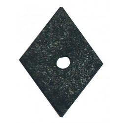 Rondella romboidale ruberoide 30x30 mm