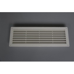 Rectangular ventilation grid plastic 12 x 36, 1 PCs