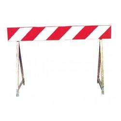 Barriera rifrangente 150x100x20 cm