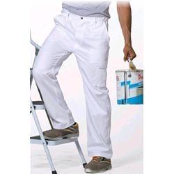 Pantalone da lavoro bianco XXL