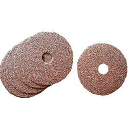 Disco abrasivo fibrato, H 115 mm, Grana 80, 10 pezzi