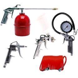 Pistola di gonfiaggio con manometro per compressore,