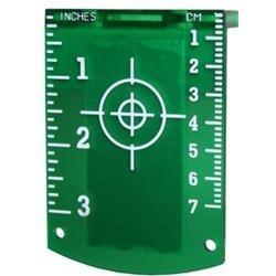 Squadretta magnetica per laser Verde