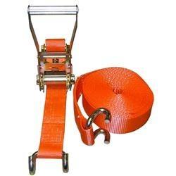 Sistema di ancoraggio con cricchetto tensionatore e gancio ad uncino