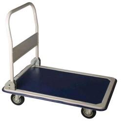 Carrello portatutto con manico richiudibile Portata 150Kg. Ruote Ø 10cm