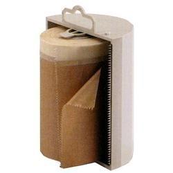 Dispenser per carta o per polietilene HD da mascheratura, H 10 cm,
