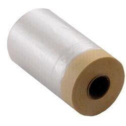 Pellicola HD-PE con nastro adesivo, H 55 cm, L 33 Mt., Piegata a 10 cm,