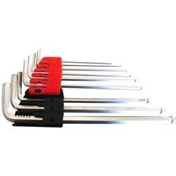 Set di 9 chiavi a brugola testa sferica