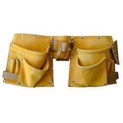 Cinturone per posatore in pelle scamosciata