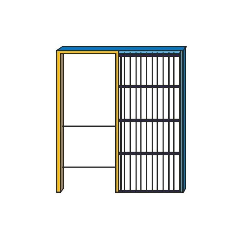 Controtelai per pareti interne rifinite in cartongesso per - Porte per pareti in cartongesso ...
