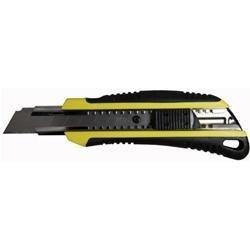 Cutter gommato autobloccante con lama in acciaio H Lama 18mm