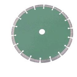 Disco diamantato a segmenti sinterizzati per taglio a secco