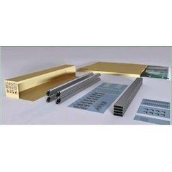 Modulo vetrato in alluminio, 50 pz