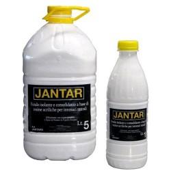 "Fondo acrilico per pitture ""JANTAR"", Latta 1 Lt., Neutro,"