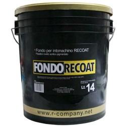 "Fondo acrilico pronto all'uso ""FONDORECOAT"", Latta 14 Lt., Neutro,"