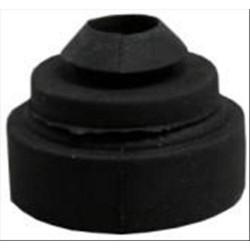 Ranella con gommino antivibrante Øesterno 30mm Øforo interno 10mm 100 pezzi