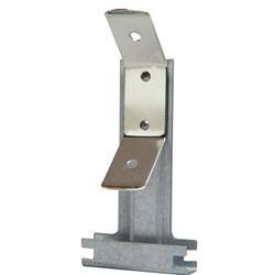 Gancio con molla per profilo 18/50 e 27/50 H10cm arrotondato Spessore bordo 4mm 100 pezzi