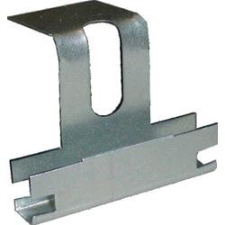 Gancio ortogonale piegato per profilo 18/50 e 27/50 H3,5cm schiacciato SpessoreBordo 2mm 100 pezzi