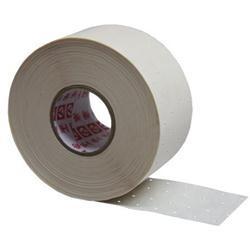 Nastro di rinforzo in carta microforata saturata in gomma Lungh.50ml Largh.4.8cm