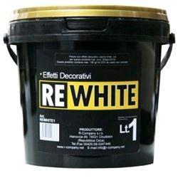 Pittura effetti decorativi Bianco, Latta 2 Lt., Bianco,