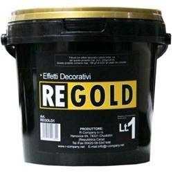 Pittura effetti decorativi Oro, Latta 5 Lt., Oro,
