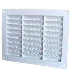 Griglia di aerazione rettangolare in materiale plastico, 23x23, 1 pz