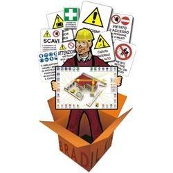 Kit cartelli per cantiere edile 20 pezzi