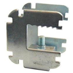 Morsetto in acciaio regolabile triplo attacco Spessore di utilizzo 18mm 100 pezzi