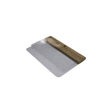 Spatola doppia lama acciaio inox Dim Lama  200mm