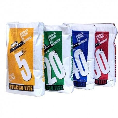 Stucco in polvere Americano Lite 8,17 Kg. Lavorabilità 40min