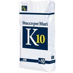 Stucco in polvere K10 10 Kg. Lavorabilità 90min