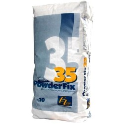 Stucco in polvere PowderFix35 10 Kg. Lavorabilità 35min